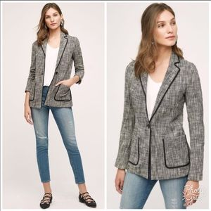 NWOT Anthropologie Cartonnier Leonie Knit Blazer